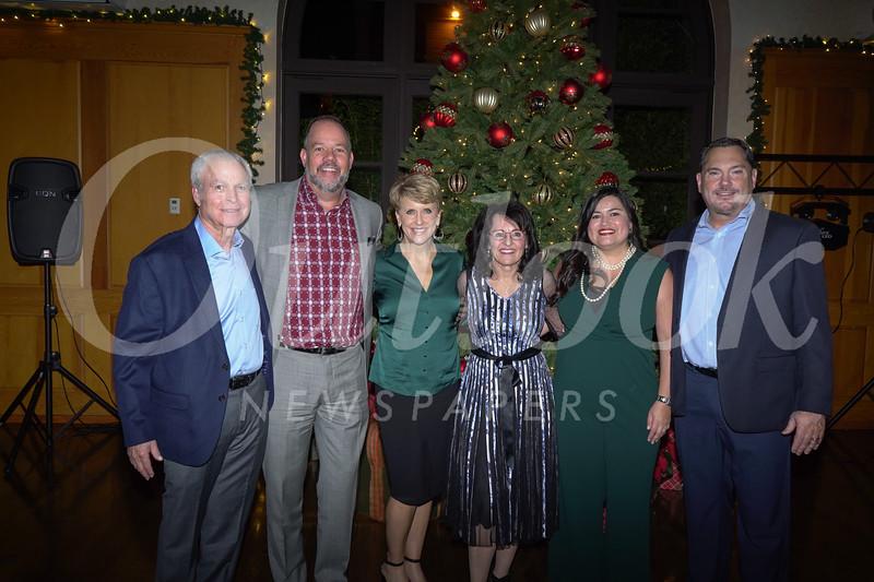 Steve Fleishman, Brent Consedine, Mary Lee Blaylock, Marilyn Simon, Hilda Hernandez and Gary Schulte