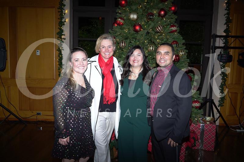 Carrie Ward, Amy Harmer, and Hilda and Jorge Hernandez
