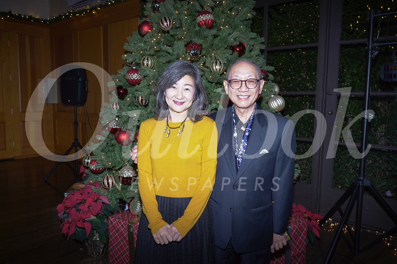 Vivien Young and Edmund Sung