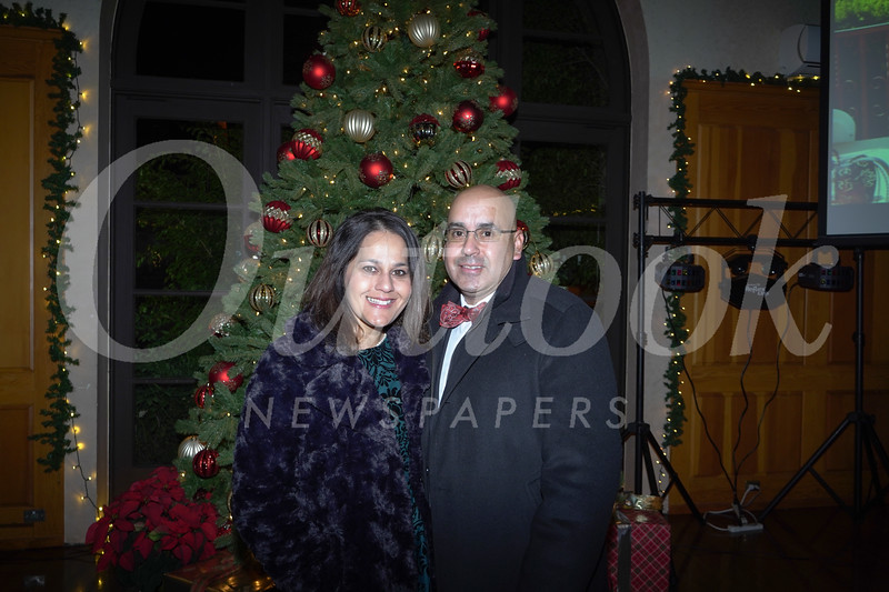 Hazel Perera and Ed Perez
