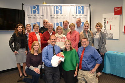Sarah Fish (front row, from left), Jason and Laura Berns, and Mike Castle. Middle row: Jennifer Berger, Dianne Whitney, Rob McLinn, Barbara McLinn, Barbara Baptie, Lindsey Mansis and Katie Blackmore. Back: Cameron Cripps, Jason Clawson, John Wilson and Dave Stuart.