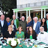 Kathy McDonnell (front row, from left), Mary Urquhart, Michelle Doney and Michael Friedman. Back: Elizabeth Short, Sheriff Jim McDonnell, Ken and Ivy Hui, Bill Urquhart, Bishop David O'Connell, Elizabeth Riordan, former L.A. Mayor Richard Riordan, Maureen Dinius and Todd Doney.