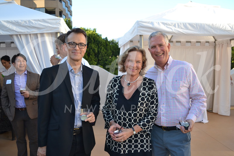 Julian Scaff with Sandra and Perry Helm