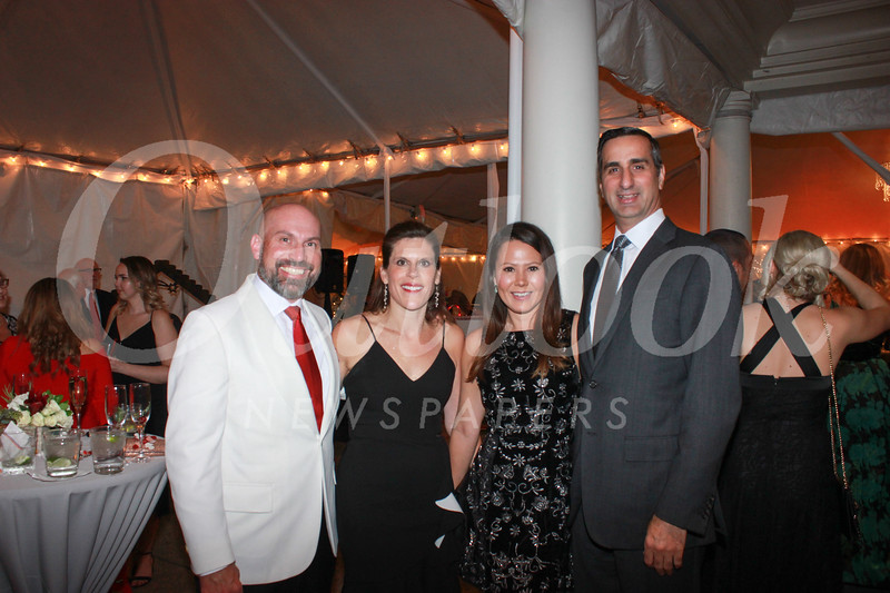 John and Jennifer Berger with Jennifer McKinnon and David DiCristofaro
