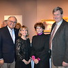 Jean and Linda Stern with Karen and Peter Lawrence