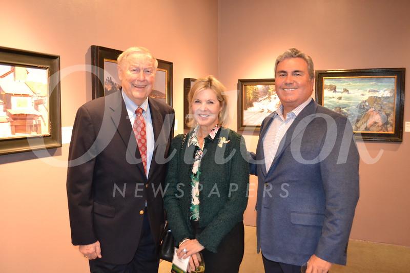 Honoree Keith Renken with Megan and Rick Hernandez