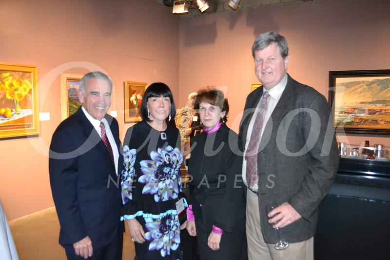 Ed Roski and Gayle Garner Roski with Karen and Peter Lawrence