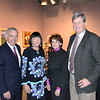 Ed Roski and Gayle Garner Roski with Karen and Peter Lawrence