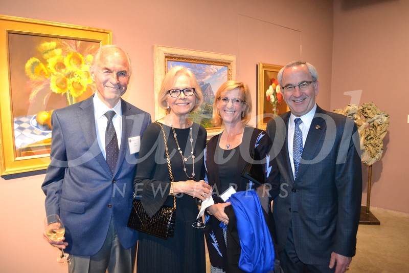 Tom and Maggie Simms with Renee and Lloyd Greif