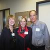 Vicki Laidig, Charlotte Streng and Dr. Gary Conrad