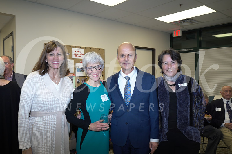 Patricia Ostiller, Peggy Smith, Bill Ukropina and Louise Wannier
