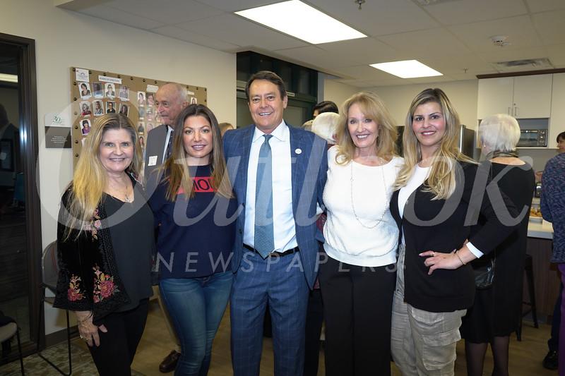 Melissa Alcorn, Dana Naples, Mike Naples, Christina Kempton and Sandy Kobeissi