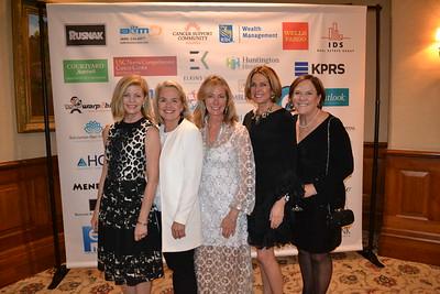 Lauri Wax, Joan Malloy, Lynn Allen, Mary Urquhart and Meg Symes