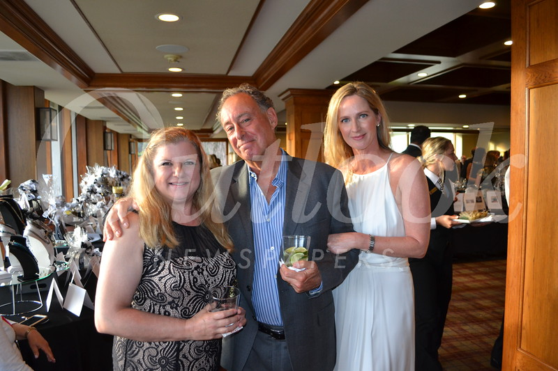 Courtney Seiter with Robert and Deborah Simon