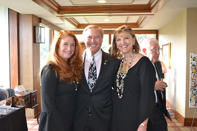 Megan Reed with Mike and LeAnn Healy
