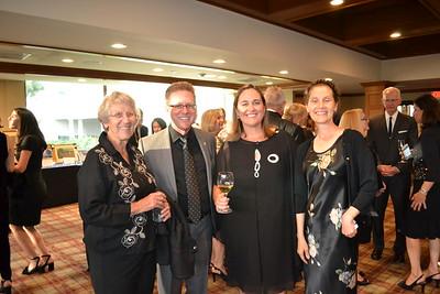 Ruth Beaglehole, Mark and Alison Gamble and Susan Goldberg
