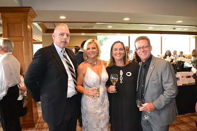 Chris and Jennifer Allen with Alison and Mark Gamble