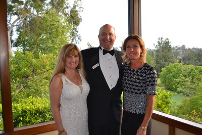 Event co-chairs Melissa Alcorn, Clay Marquardt and Lydia Valenta