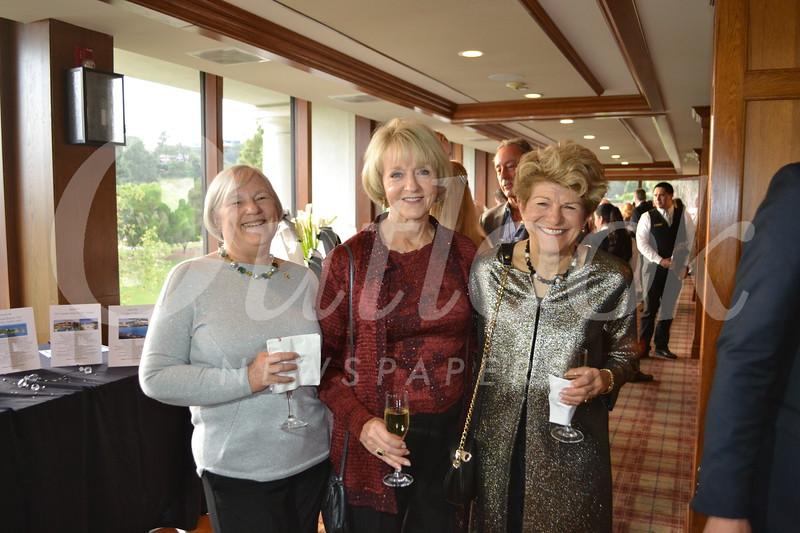 Joan Wood, Judy White and Lauren Frankel
