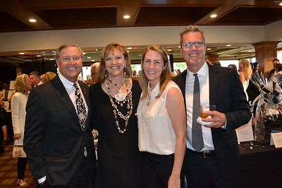 Mike and LeAnn Healy with Cindy Nuccio and Gary Dye