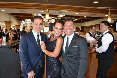 John Vartamian with Liz Rusnak Arizmendi and Andrew Arizmendi