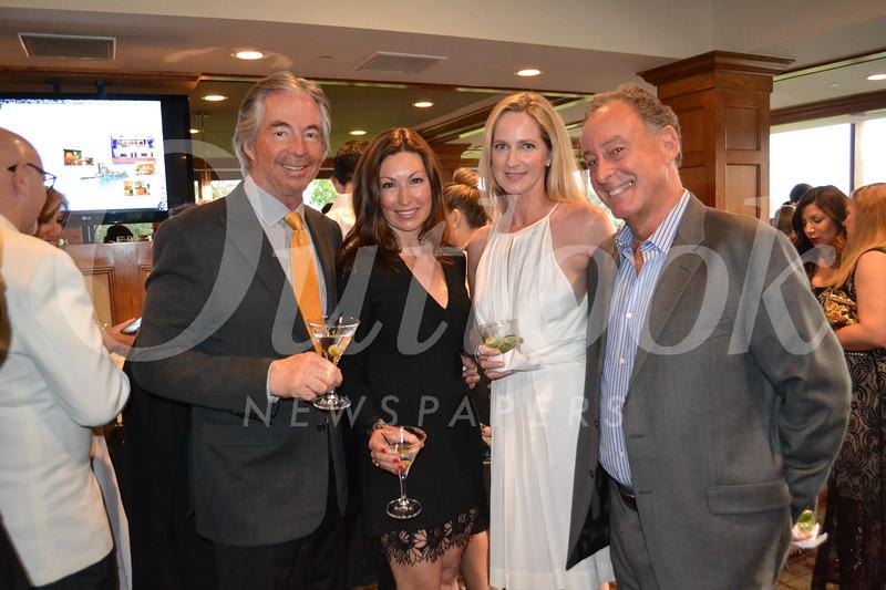 Gregg Smith and Chelby Crawford with Deborah and Robert Simon
