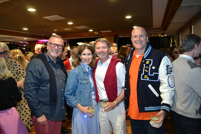Peter Whitford, Melina and Barry Pyle and Clay Marquardt