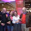 Dick and Melissa Patterson, Vicky Mulligan and Lee Benuska