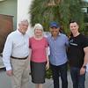Bill and Diane Cullinane, Gus Ruelas and Brandon Road