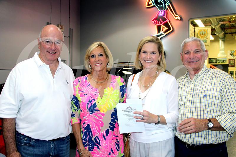 David Balfour, Jane MacKinnon, and Vicky and Jeff Botsford