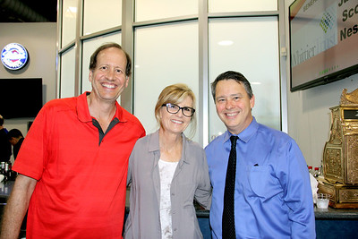 Mike and Gayle Galper with Joe Musso