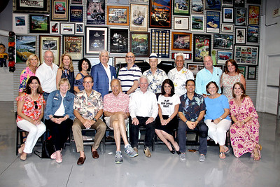 The event's committee members include Patricia Ostiller (front row, from left), Ellen Driscoll, John Flynn, Aaron Weiss, Tom Mills, Meshell Holdo, Mike Naples, Meg Symes and Danielle Gay. Back: Jane MacKinnon, David and Elita Balfour, Aida Petro, Jeff Buckner, Roy Antoun, Bill Ukropina, Bill Young, John Symes and Marsha Mills.