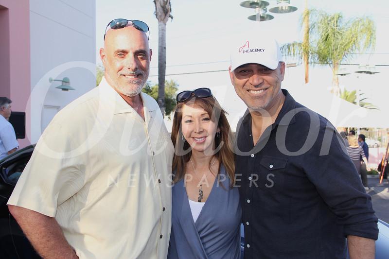 Nick Petralia, Josette Wolf and Gus Ruelas