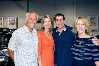 Scott Nesbit, Anne Loveland, Mustapha Baha and Julie Nesbit