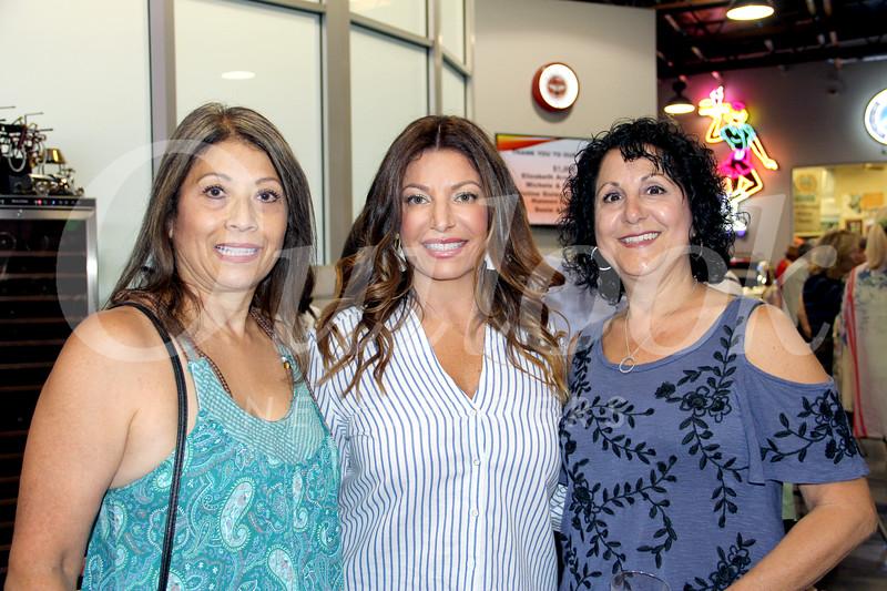 Jeanne Thompson, Dana Naples and Aida Petro