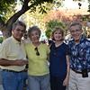 Wayne and Barbara Foster with Carolyn and Bob Oberlander