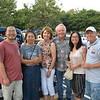 Peng Bao, Wei Huang, Gloria and Gene Brunzell, Anna Yang and Charlton Breon