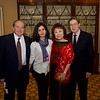 Zaven and Nina Kazazian with Janice Lee McMahon and Brian McMahon