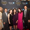 Elvira Valenzuela, Vinh Ly, Jennifer Cheung, Fanny Lee, Emily Wang and Robert Lo of event sponsor East West Bank