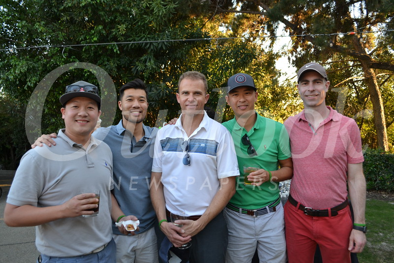 Jenny Shen, Roger Yeh, Scott Street, Chris Ting and Ben Ray