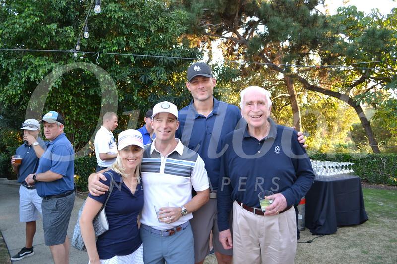Stephanie and Mike Richards with Richard and Dick Mandeville