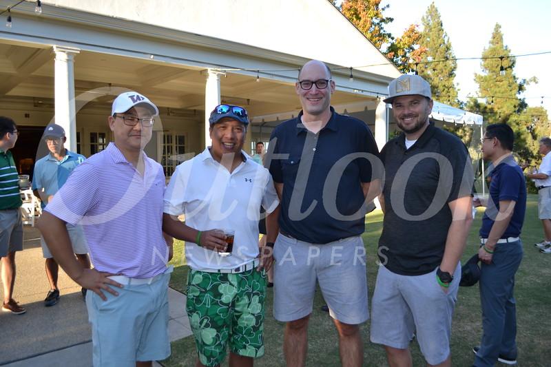 Elbert Kim, David Plurad, Kyle Francis and Aaron Epstein