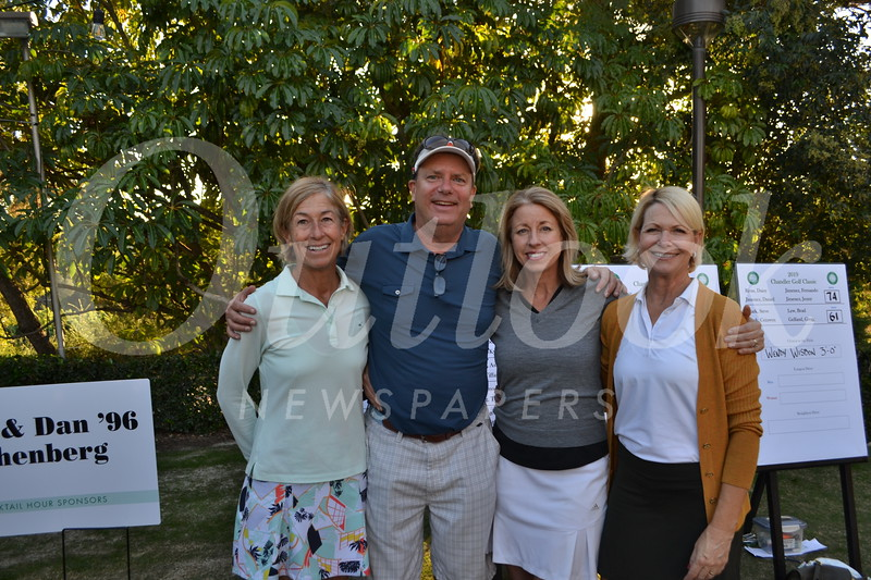 Wendy Wisbon, Chuck and Robyn Tapert, and Andrea Yoka