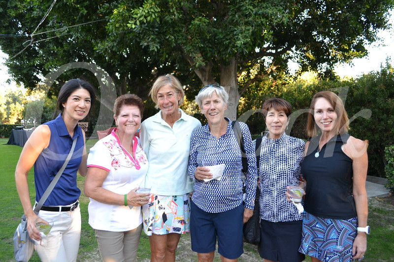 Mari Hsu, Marilyn Hykes, Wendy Wisbon, Joan Higgins, Eiko Kanenobu and Michele Schlichting