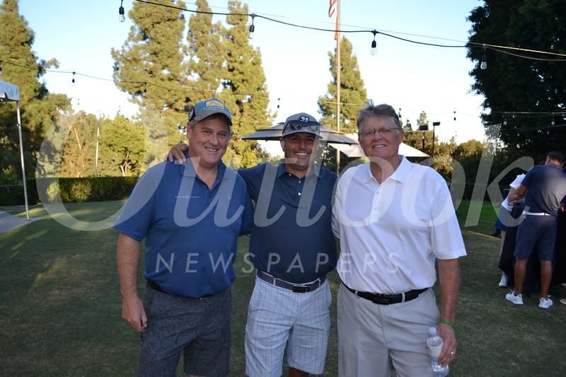 Sean Moriarty, Brandon Hill and Lou Whitley