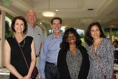 Sally and Bob Spyksma, Thomas and Ashana Thorman, and Connie Casillas