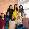 Southern California Children's Museum board members include (front row, from left) Jennifer Quan, Catherine Welch, Roya Fohrer, Amy Whitman and Maren Hoecker. Back: Cindy Shih, Cheryl Mang and Michelle Cherng Lee.