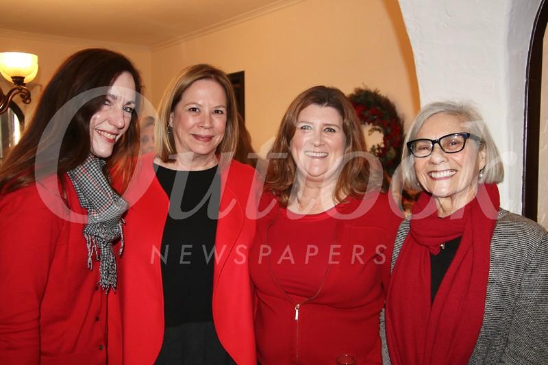 Kathleen McCrimlisk, Brigid Brahos, Angie Ladd and Martha Fitzpatrick