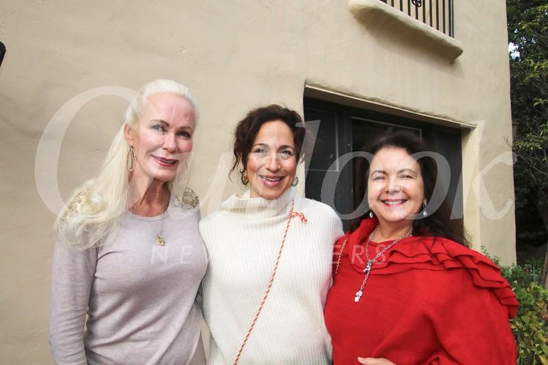 Angel Throop, Clarisa Ru and Mary Schammel