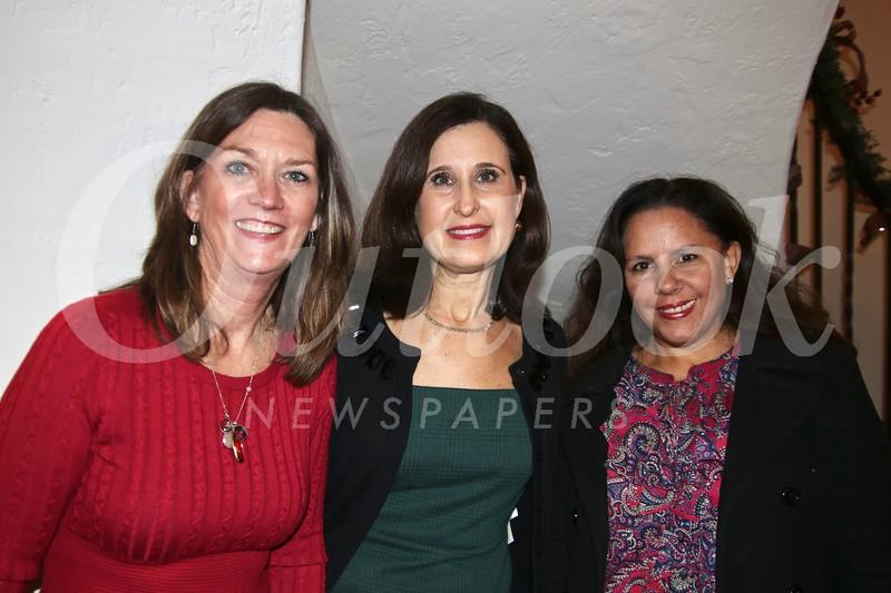 Barbara Mitchell, Daina Kasputis and Stephanie Ginn